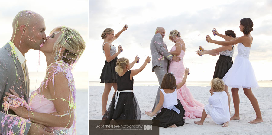 Fort Myers Beach Trash the dress