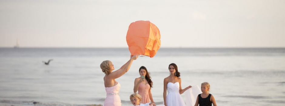 Fort Myers Beach Sunset Wedding
