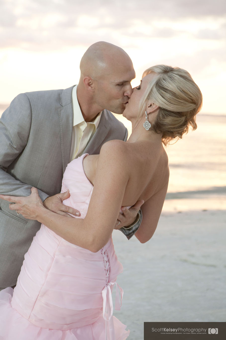 fort myers beach sunset wedding florida wedding
