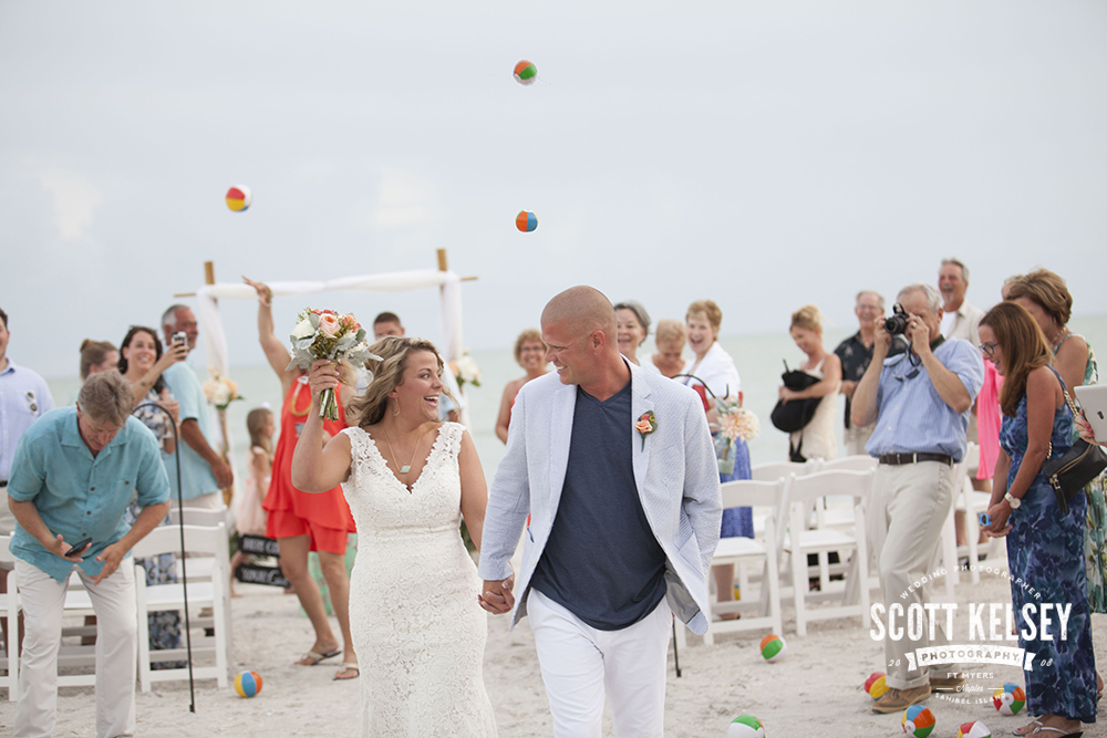 Beach Wedding at Waterside Inn